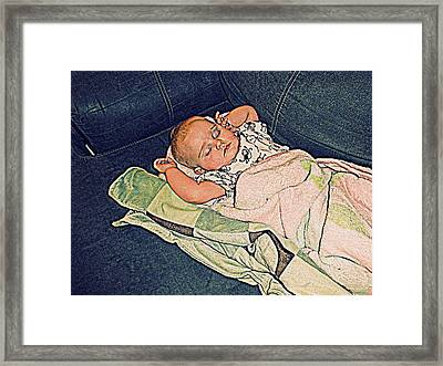 Slumberland Framed Print by Camille Reichardt