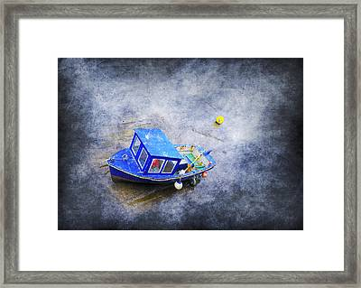 Small Fisherman Boat Framed Print by Svetlana Sewell