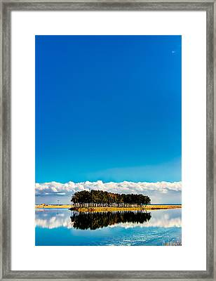 Small Island Framed Print by Tokism