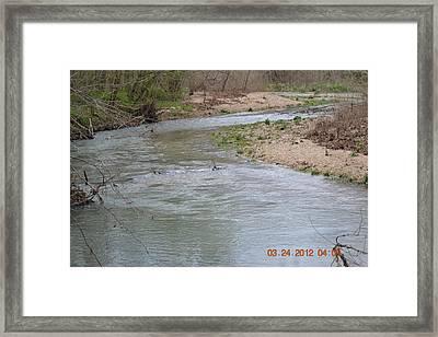 Small Rapids Framed Print by Heidi Frye