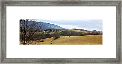 Small Town Framed Print by Kume Bryant