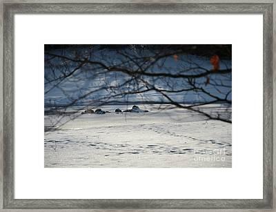 Small Winter Paradise 1 Framed Print