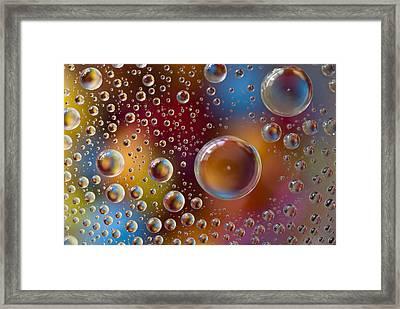 Smartie Drops Framed Print