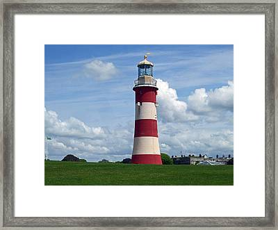 Smeaton's Tower Framed Print by Joshua Benk