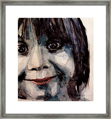 Smile Framed Print by Paul Lovering