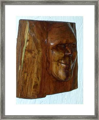 Smiling Framed Print by Charles Sims