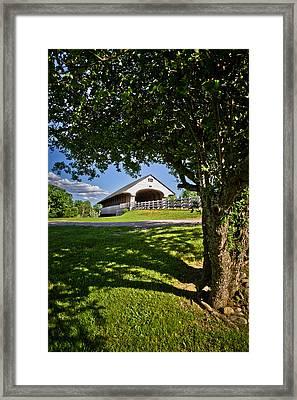 Smith Millenium Covered Bridge Framed Print