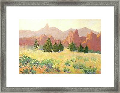 Smith Rock Framed Print