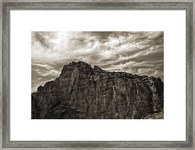 Smith Rock Framed Print by Tyra  OBryant