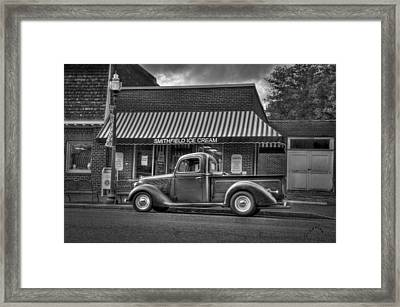 Smithfield Ice Cream Framed Print