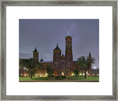 Smithsonian Castle Framed Print by Metro DC Photography