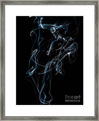 Smoke-6 Framed Print