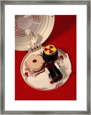 Smoke Alarm Components Framed Print