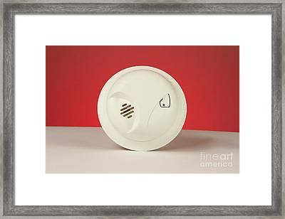 Smoke Detector Framed Print