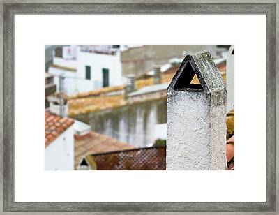 Smokestack Framed Print