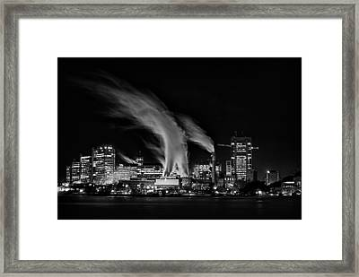 Smokin Framed Print by Andre Faubert