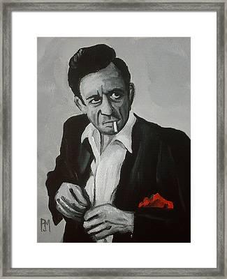 Smokin Johnny Framed Print by Pete Maier