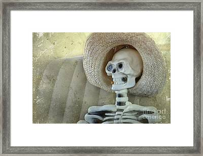 Smoking Can Kill You Framed Print by Sophie Vigneault