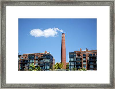 Smoking Gun Framed Print by