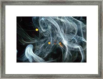 Framed Print featuring the mixed media Smoking Painting by Beto Machado