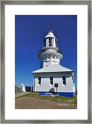 Smoky Cape Lighthouse Framed Print