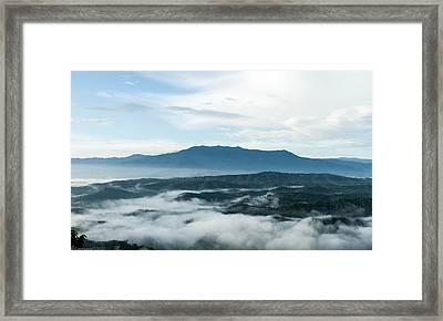 Smoky Mountain Morning   Framed Print by Glenn Lawrence