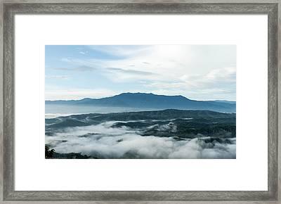 Smoky Mountain Morning   Framed Print by Glenn Lawrence