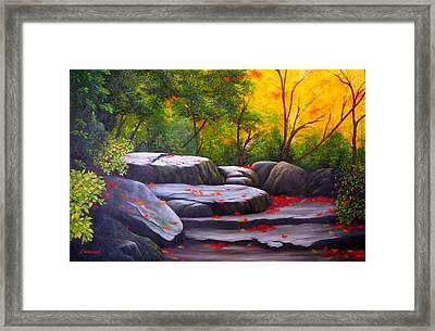 Smoky Mountain Solitude Framed Print