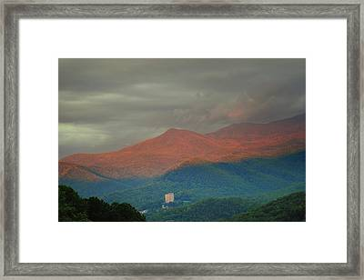 Smoky Mountain Way Framed Print by Frozen in Time Fine Art Photography
