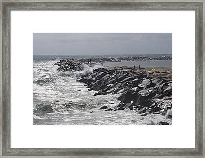 Smooth Shelter Framed Print