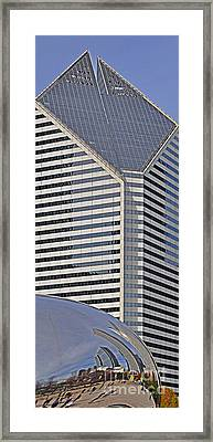 Smurfit And The Bean Framed Print by Mary Machare