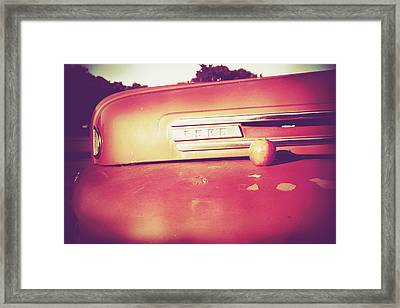 Snack On This Framed Print by Toni Hopper