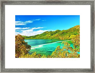 Snake Island Framed Print by MotHaiBaPhoto Prints