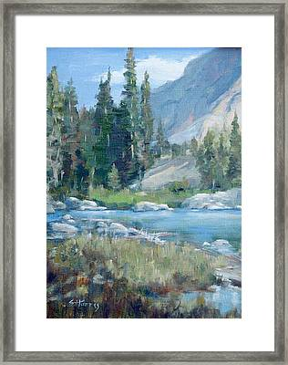 Snake River Framed Print by Sandra Harris