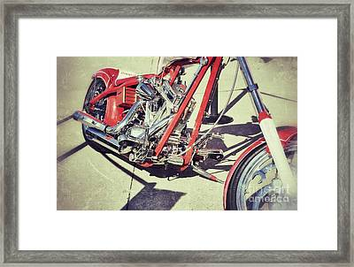 Snap On Framed Print