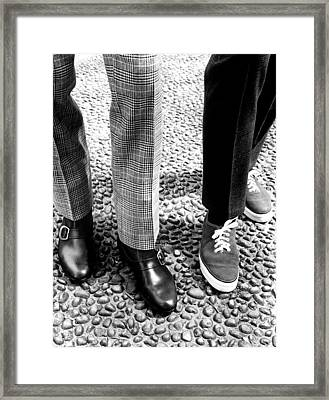 Sneakers Right, W Mod Ankle Boots, 1966 Framed Print