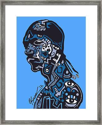 Snoop Dogg Framed Print by Kamoni Khem