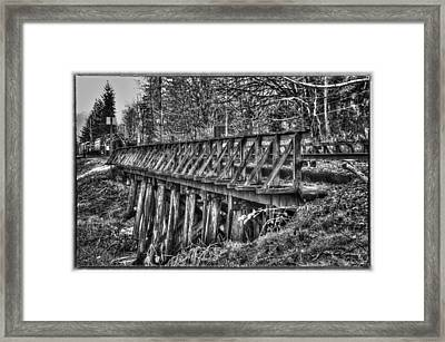Snoqualmie Trestle Framed Print by Scott Massey