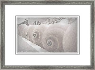 Snow Babies Framed Print by Danielle  Parent