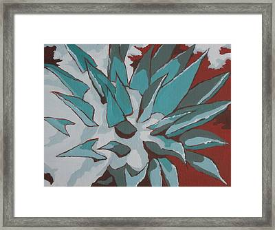Snow Melt Framed Print by Sandy Tracey