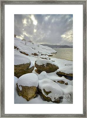 Snowcapped Framed Print by Idaho Scenic Images Linda Lantzy