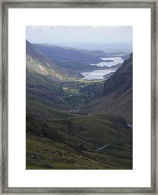Snowdon Framed Print by Clare Staplehurst
