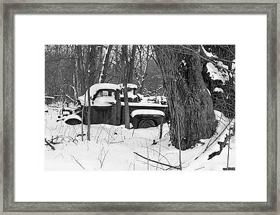 Snowed In Framed Print