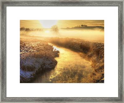 Snowscape, County Antrim Framed Print