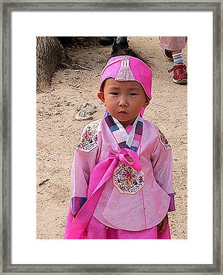 So Cute It Hurts Framed Print