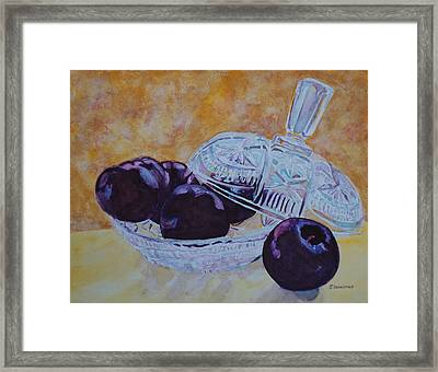 So Juicy And Sweet Framed Print by Jenny Armitage