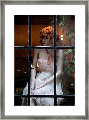So Lost Lovely Ellie Framed Print by Jez C Self