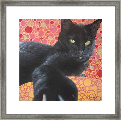 So Not Your Friend Framed Print by Kerry Neuville