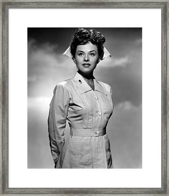 So Proudly We Hail, Paulette Goddard Framed Print by Everett