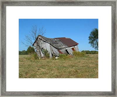 So Tired Framed Print by Deena Stoddard